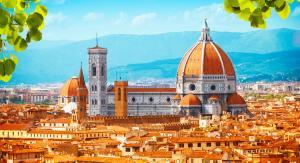 Флоренция | вид сверху