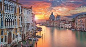 Венеция | Закат на Гранд Канале