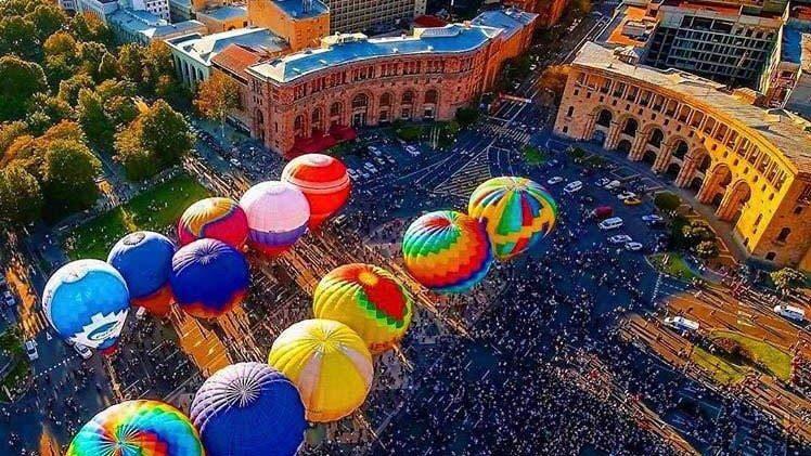 Наслаждайтесь осенью в Армении